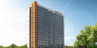 Проект апарт-отеля на улице Крыленко