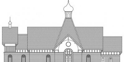 Проект церкви Казанской иконы на проспекте Славы