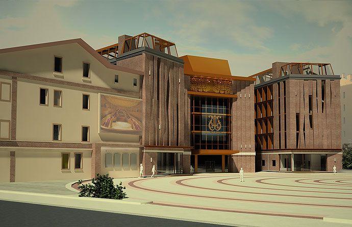 Проект концертного зала