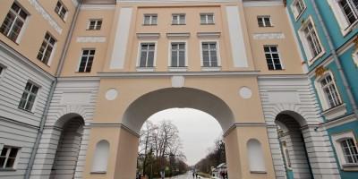 Пушкин, Садовая улица, арка
