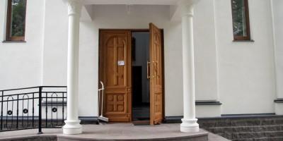 Репино, Спасо-Преображенская часовня, дверь