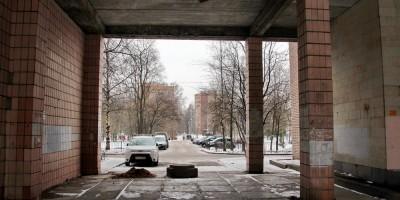 Старцева улица, арка