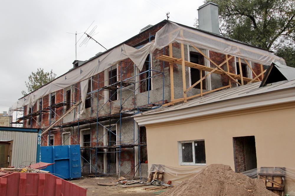 Старо-Петергофский проспект, 9а, литера Ж, ремонт