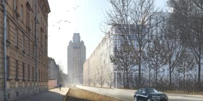 Студенческая улица, проект жилого дома