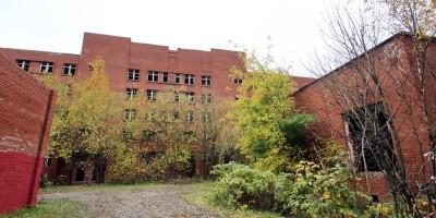 Улица Костюшко, 9, корпус 2, недостроенное здание