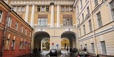Улица Ломоносова, переход и арки