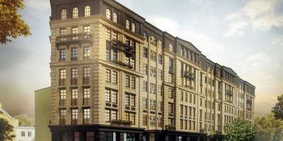 Улица Моисеенко, проект жилого дома 3
