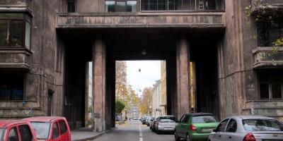 Улица Всеволода Вишневского, арка