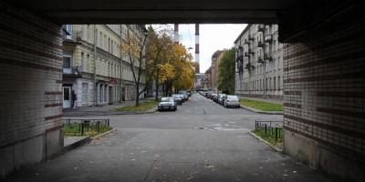Весельная улица, арка