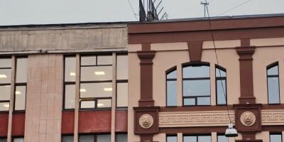 Чкаловский проспект, 50, оформление фасада