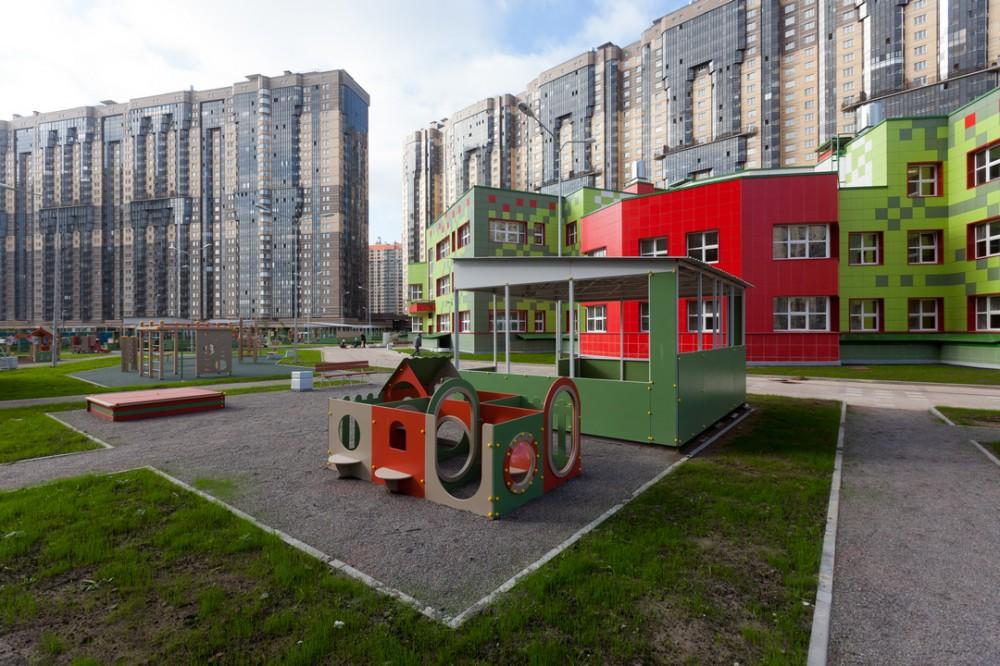 Детский сад на улице Федора Абрамова
