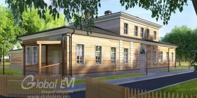 Дом Фридентальской колонии в Пушкине, проект воссоздания