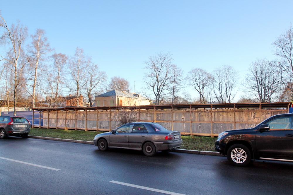 Петергоф, Константиновская улица, 20, после сноса