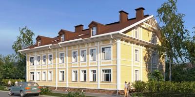 Петергоф, Константиновская улица, 20, проект жилого дома