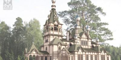 Проект воссоздания церкви Святого Духа, Комарово