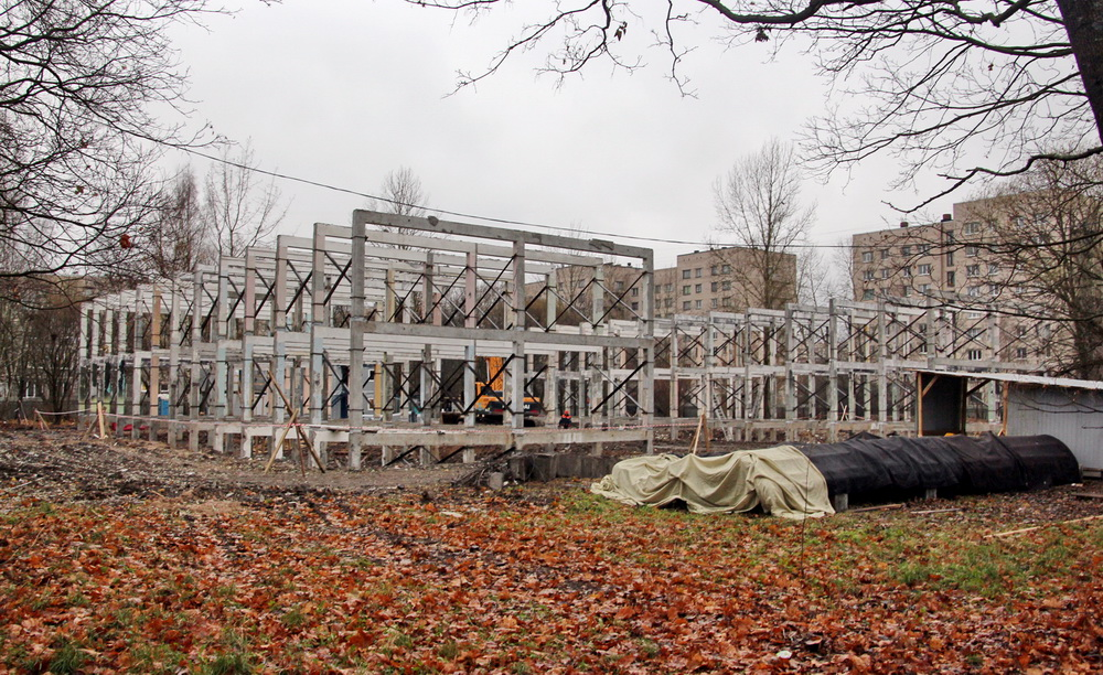 Улица Летчика Пилютова, 13, корпус 2, реконструкция