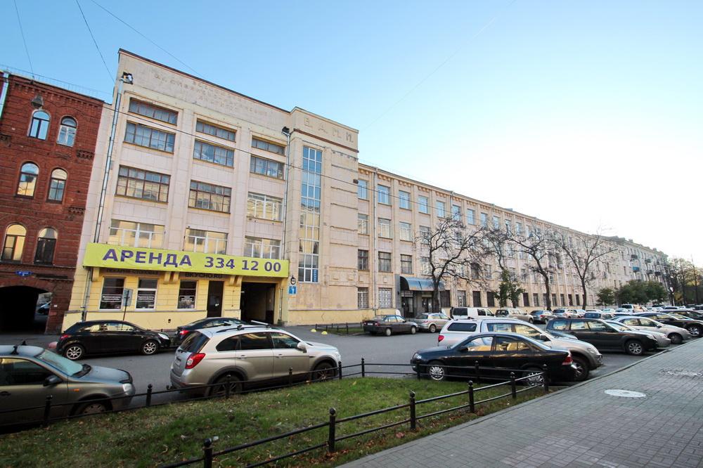 Всероссийский алюминиево-магниевый институт на 20-й линии Васильевского острова, 5-7, корпус 1