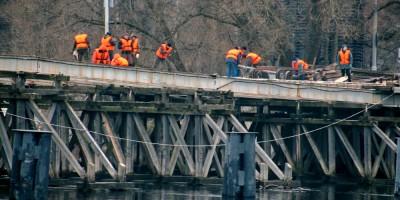 2-й Елагин мост, демонтаж