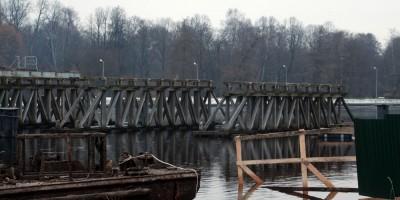 2-й Елагин мост, снесенный пролет