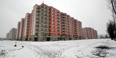 Колпино, новые жилые дома на Загородной улице