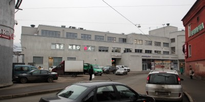 Кировский универмаг на Промышленной улице