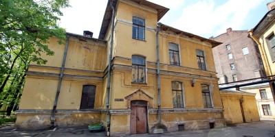 Литейный проспект, дом 56, литера Л, боковой фасад