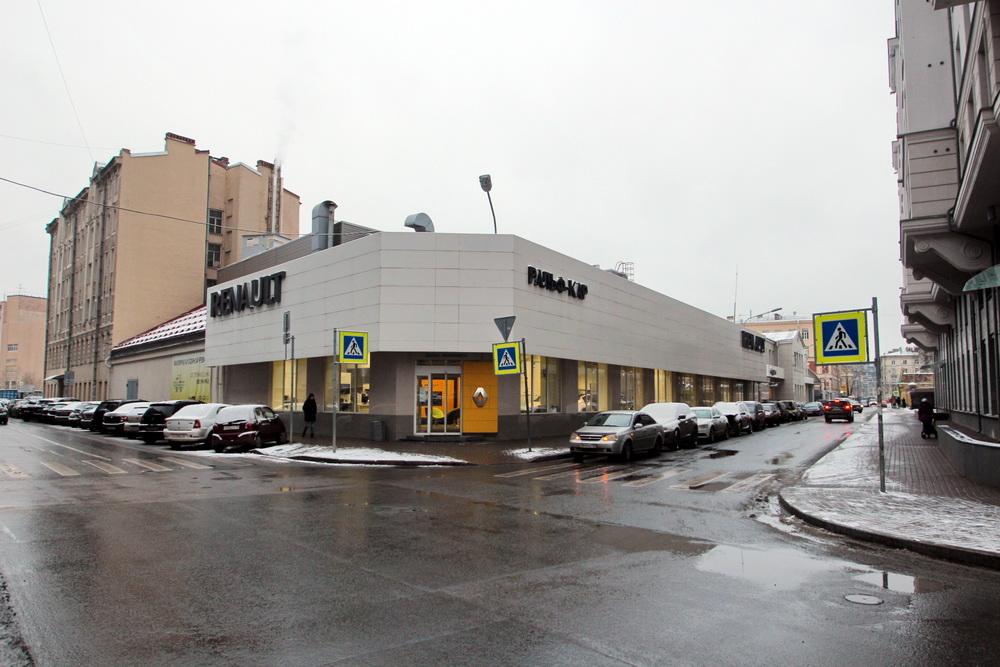 Малая Зеленина улица, дом 4, литера В