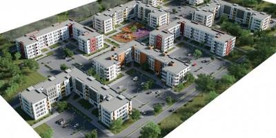Проект жилой застройки в Торфяном