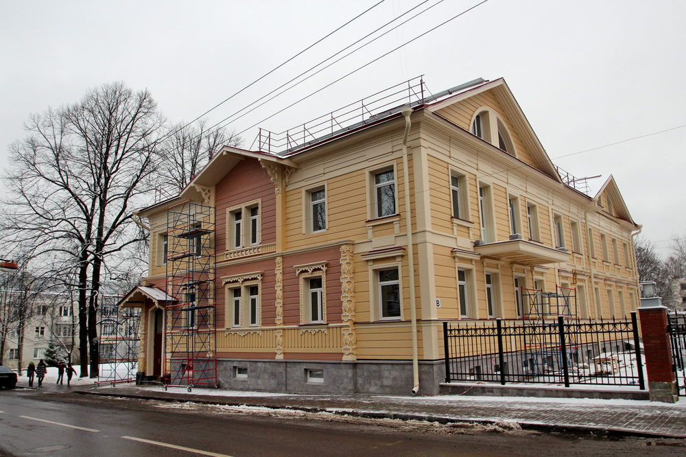 Пушкин, Церковная улица, 7
