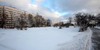 Сквер на проспекте Ветеранов