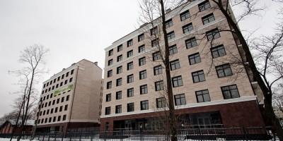 Улица Савушкина, 104, вид с Приморского проспекта