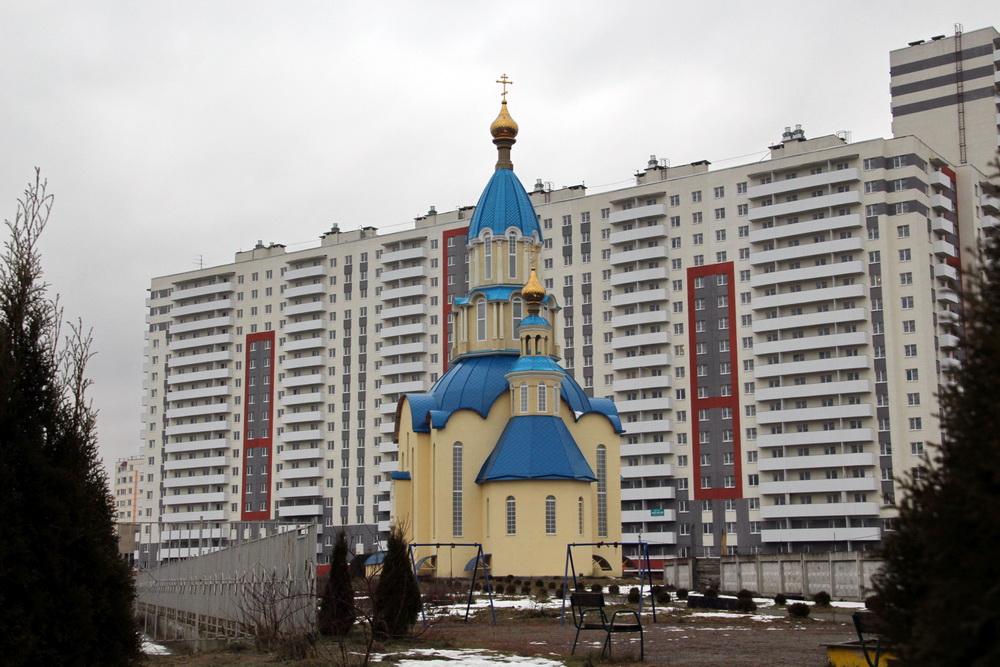 Парголово, Благовещенская церковь, апсида