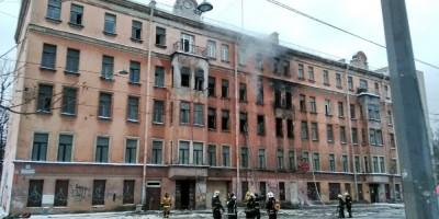 Пожар на 2-м Муринском проспекте, 31