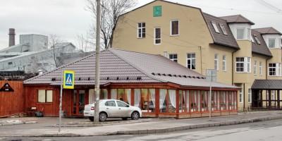 Ресторан на улице Ивана Черных