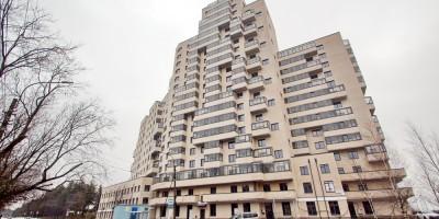 Сестрорецк, Приморское шоссе, дом 352, вид с улицы Володарского