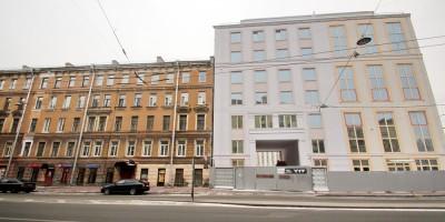 Смольный проспект, 17, фасад по улице Бонч-Бруевича