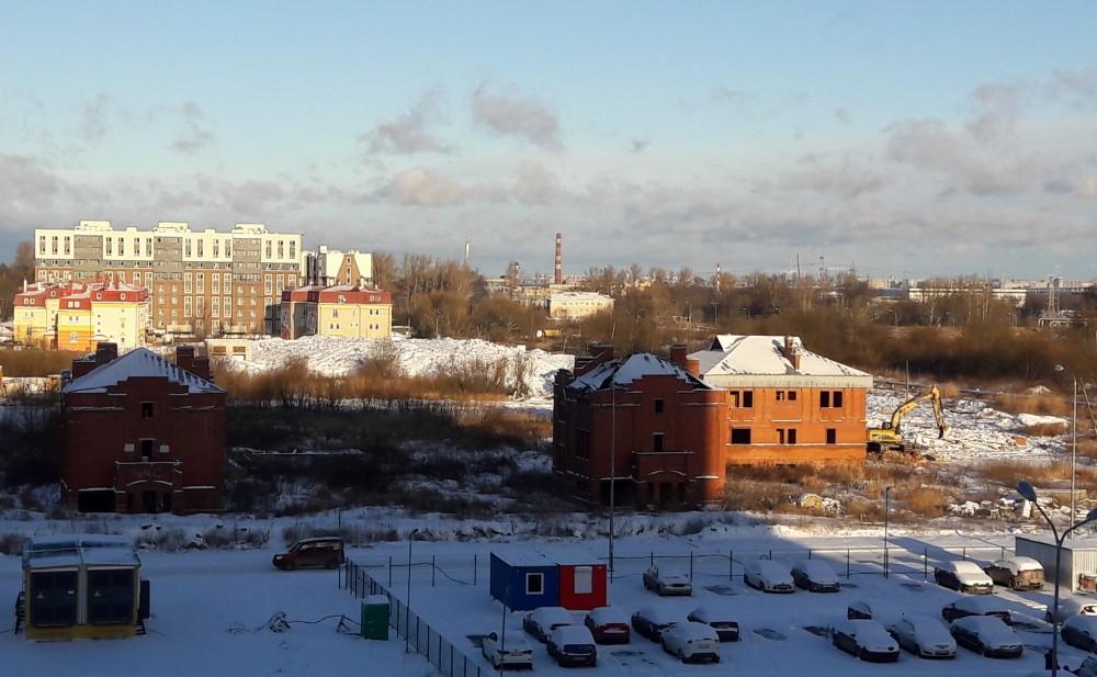 Снос коттеджей на улице Мерецкова