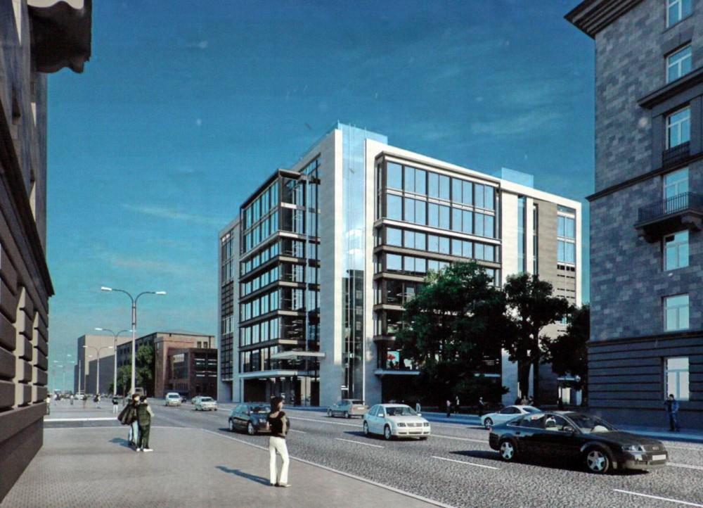 Улица Бабушкина, 40, проект торгового центра