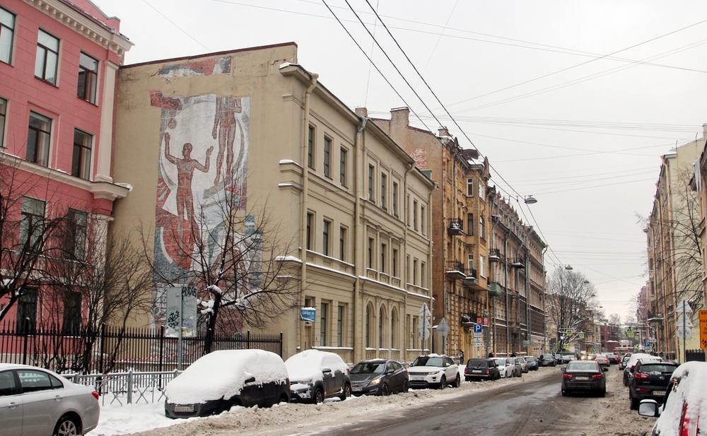 Ковенский переулок, мозаика