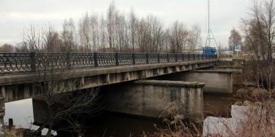 Объездной мост, Охта