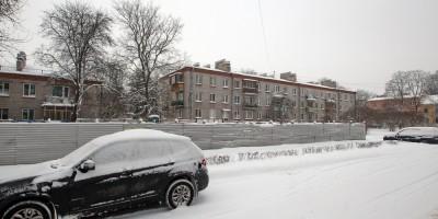 Павловск, Песчаный переулок, 9, после сноса