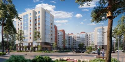 Песочный, проект жилого дома СПб реновации