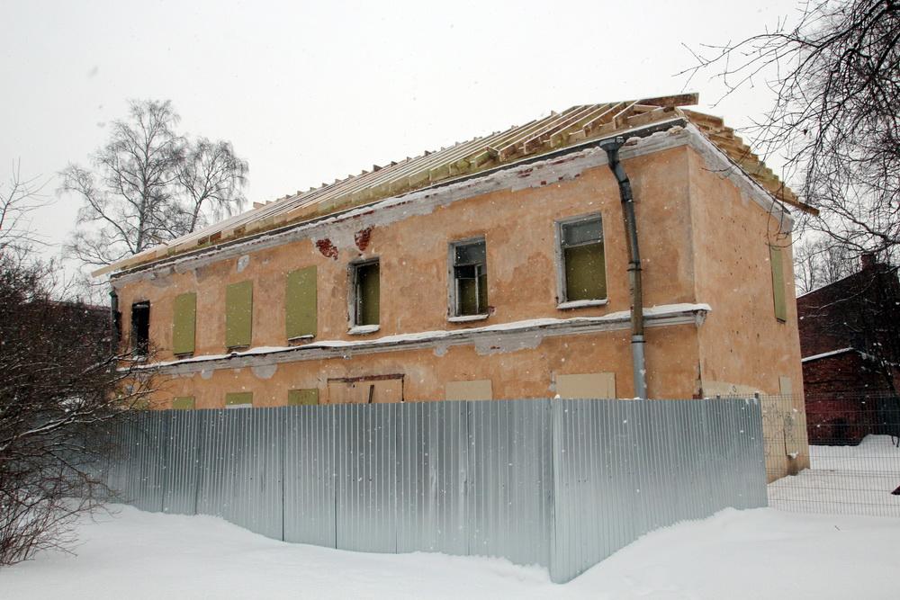 Петергоф, Константиновская улица, 22, ремонт