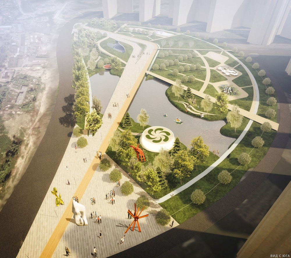 Проект парка на Парнасе
