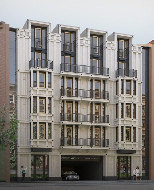 Проект жилого дома на 9-й Советской улице