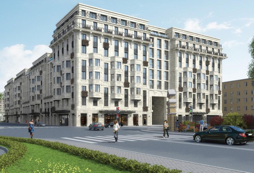 Проект жилого дома на Миргородской улице от Glorax