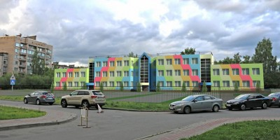 Пушкин, Красносельское шоссе, проект детского сада