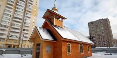 Шушары, Первомайская улица, церковь Николая Угодника