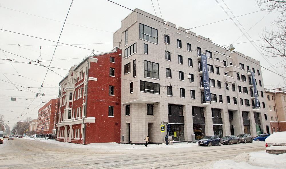 Улица Мира, 36, вид с улицы Котовского