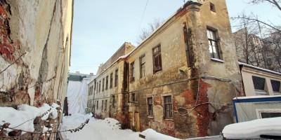 Улица Репина, флигель дома Долгоруковых
